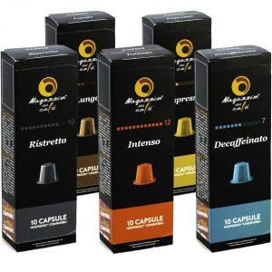 Magazzini del Caffé Nespresso® Compatible Coffee Capsules, Starter Pack