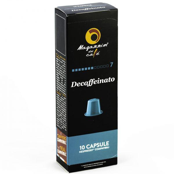 Magazzini del Caffé Nespresso® Compatible Coffee Capsules, Decaffeinato