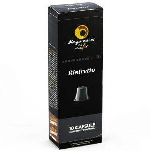Magazzini del Caffé Nespresso® Compatible Coffee Capsules, Ristretto