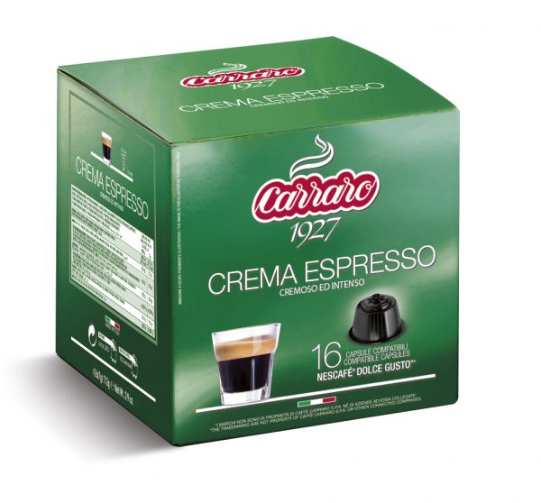 Dolce Gusto® Compatible Coffee Capsules, Crema Espresso