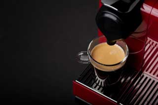 Coffee machine coffee pods fresh cup brew