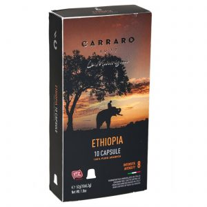 Corraro Nespresso® Compatible Coffee Capsules, Ethiopian Single Origin