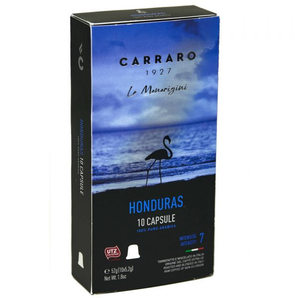 Carraro Nespresso® Compatible Coffee Capsules, Honduras Single Origin
