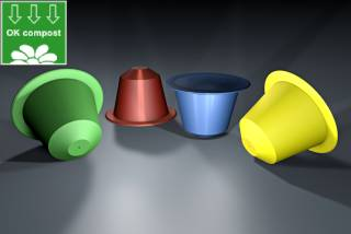 Nespresso® Compostable Compatible Coffee Capsules